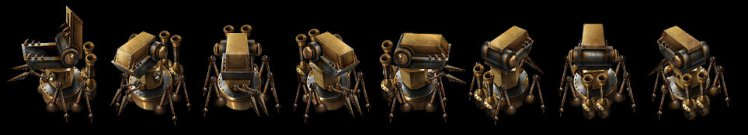 Hunter for Dismantlers. Робот «Испепеляющая Глотка»