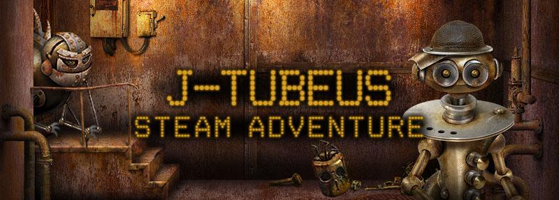 J-Tubeus. Steam Adventures. Icon 800x287